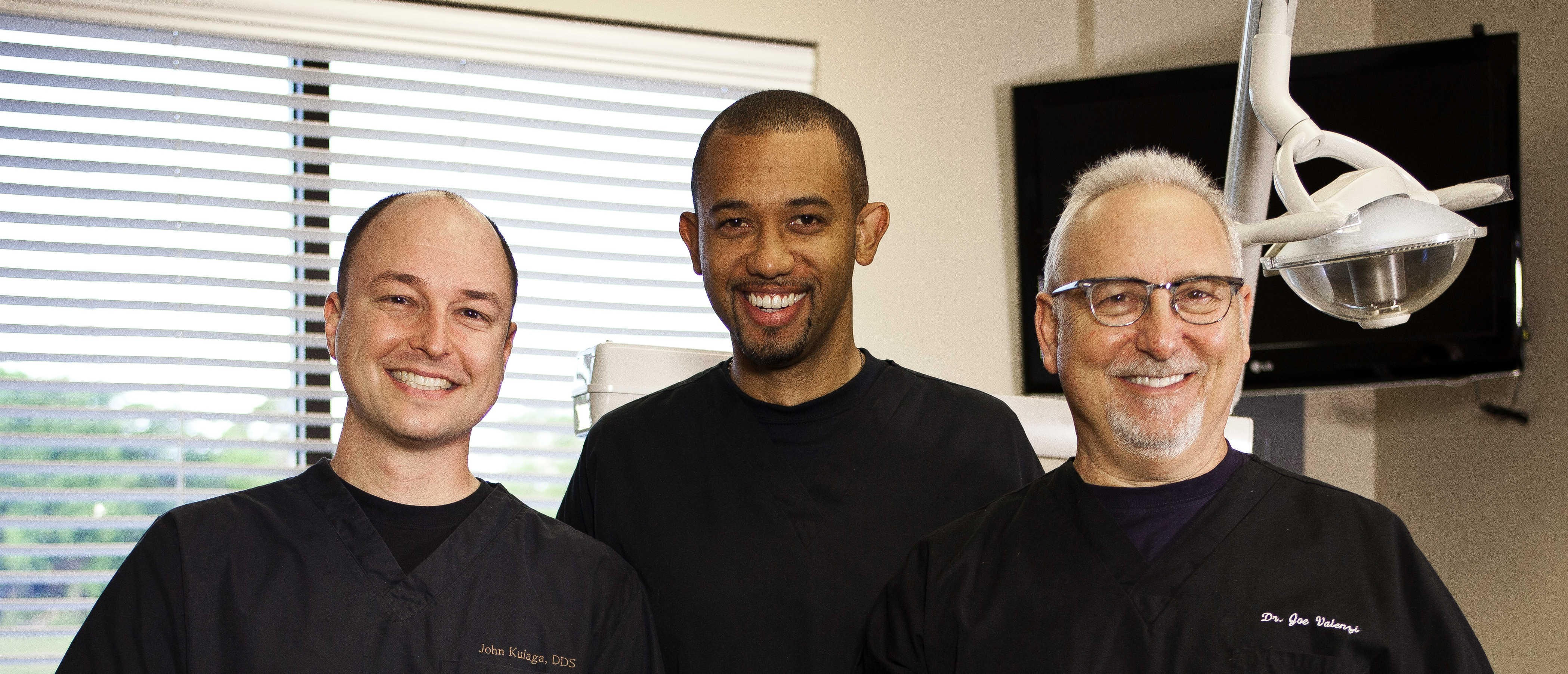 Dr. Kulaga, Dr. Abrahams, and Dr. Valenzi - White Wolf Dental - Port Orange, FL